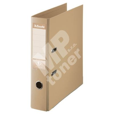 Pákový pořadač Esselte No. 1 Power z PVC A4 75 mm, pískový 1