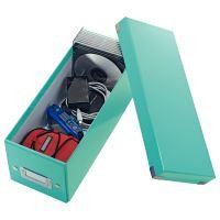 Archivační krabice na CD Leitz Click-N-Store WOW, ledově modrá 3