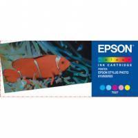 Inkoustová cartridge Epson C13T027401 color, originál