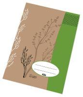 Školní sešit A4 425 čtvereček/20 listů