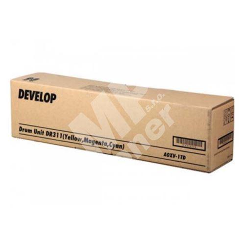 Válec Develop ineo DR-311C/M/Y, CMY, A0XV1TD, originál 1