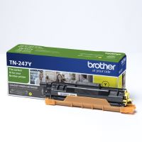 Toner Brother TN-247Y, DCP-L3510CDW, DCP-L3550CDW, yellow, originál