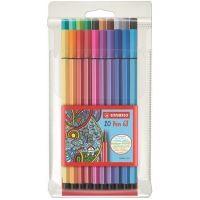 Fixy STABILO Pen 68, 1mm, 20 barev