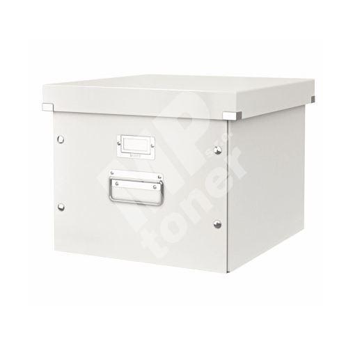 Archivační krabice na závěsné desky Leitz Click-N-Store, bílá 1