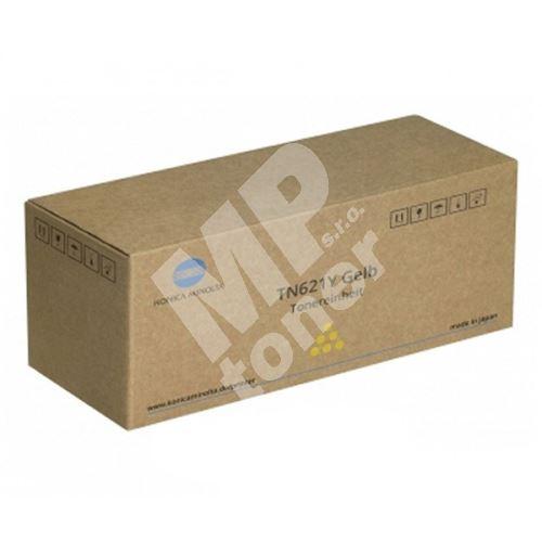 Toner Konica Minolta A3VX252, Bizhub Press C71hc, Pro C71hc, yellow, TN-621Y, 1