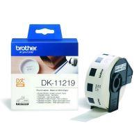Papírové štítky Brother DK11219, 12mm, bílá, 1200 ks, pro tiskárny řady QL