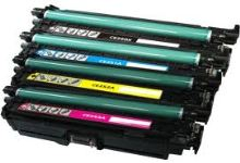 Kompatibilní toner HP CE252A, Color LaserJet CP3525, yellow, 504A, MP print