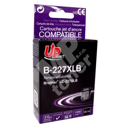 Cartridge Brother LC-227XLBK, black, UPrint 1