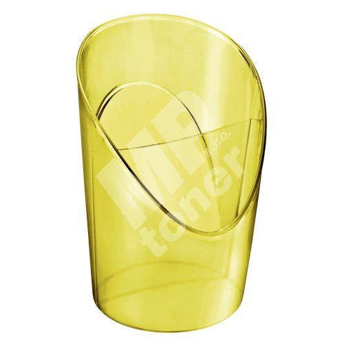 Stojan na tužky Esselte Colour Ice, žlutá 1
