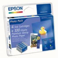 Inkoustová cartridge Epson C13T055640, Stylus Photo RX425, CMYK, originál