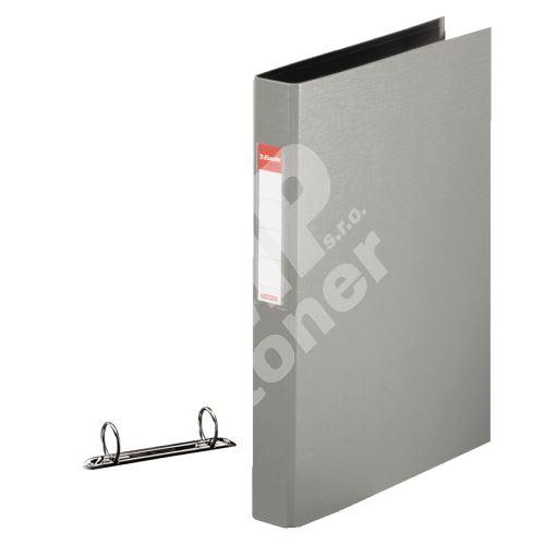 Dvoukroužkový pořadač Esselte 35 mm, šedý 2