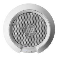 Bezdrátový reproduktor HP 1.0, 2.8W, ovládání hlasitosti, bílý, přenosný, Bluetooth