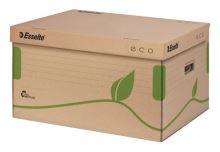 Archivační kontejner Esselte ECO s víkem, hnědý 3