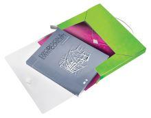 Desky s gumičkou Wow Jumbo, zelená, 30 mm, PP, A4, LEITZ 5