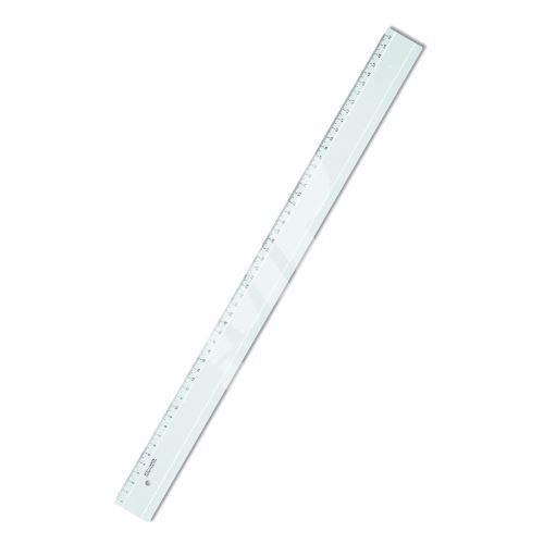 Pravítko 50cm transparentní 2