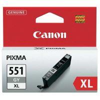 Inkoustová cartridge Canon CLI-551GY XL, iP7250, MG5450, MG6350, grey, originál