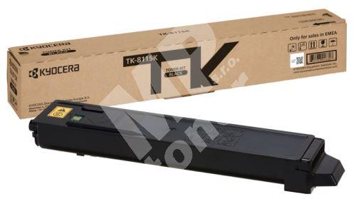 Toner Kyocera TK-8115K, M8130, M8124, black, 1T02P30NL0, originál
