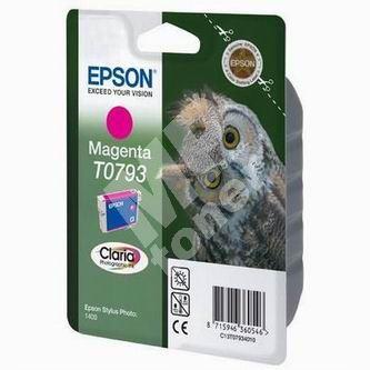 Cartridge Epson C13T079340, magenta, originál 1