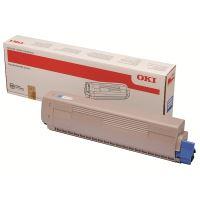 Toner OKI 45862839, MC853, MC873, cyan, originál