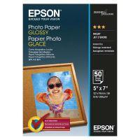 Epson Glossy Photo Paper, foto papír, lesklý, bílý, 13x18cm, 200 g/m2, 50 ks, C13S042545