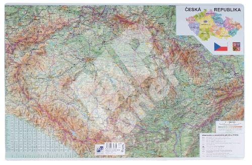 Psací podložka na stůl mapa Automapa ČR 60 x 40