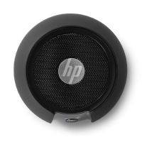 Bezdrátový reproduktor HP 1.0, 2.8W, ovládání hlasitosti, černý, přenosný, Bluetooth