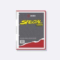 Kroužkový blok Bobo Speciál A4, 50 listů, linka
