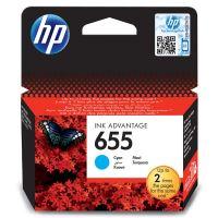 Inkoustová cartridge HP CZ110AE, Deskjet 3525, 5525, 6525, 4615, cyan, No.655, originál