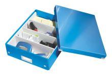 Archivační organizační box Leitz Click-N-Store M (A4), modrý
