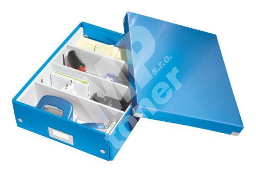 Archivační organizační box Leitz Click-N-Store M (A4), modrý 1