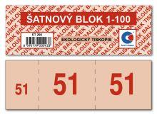 Šatnové bloky ET290, 1-100 čísel 5
