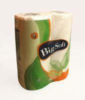 Big Soft Classic papírové kuchyňské utěrky 2 vrstvé 51 útržků 2 kusy 1