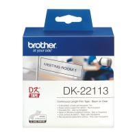 Filmová role Brother DK22113, 62mm x 15.24m, bílá, průsvitná, 1 ks