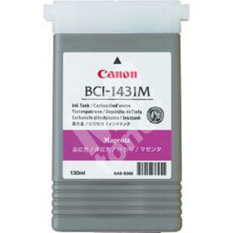 Inkoustová cartridge Canon BCI-1431M, CF8971A001AA, červená, originál