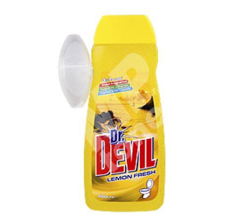 Dr. Devil Lemon Wc gel 400 ml + koš 1