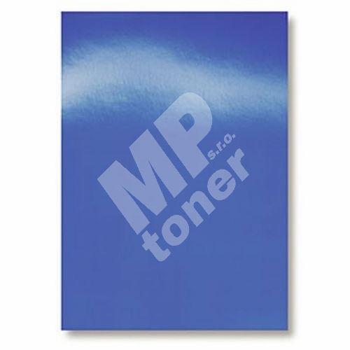 Kartónové desky pro zadní strany CHROMO, A4, 250 g, modrá, 100 ks