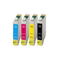 Kompatibilní cartridge Epson T0715, 2 x BK + 1 x CMY, Armor