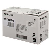 Toner Sharp MX-C30GTB, MX-C250FE, C300WE, black, originál