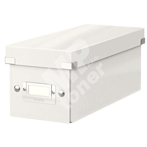 Archivační krabice na CD Leitz Click-N-Store WOW, bílá 1