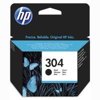 Inkoustová cartridge HP N9K06AE, Deskjet 3720, 3721, 3723, 3730, black, No.304, originál
