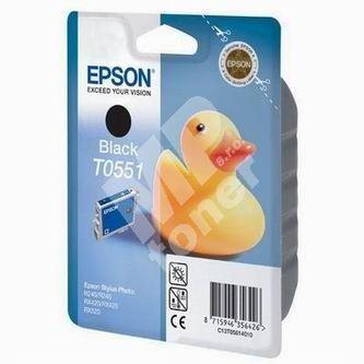 Inkoustová cartridge Epson C13T055140, Stylus Photo RX425, black, originál