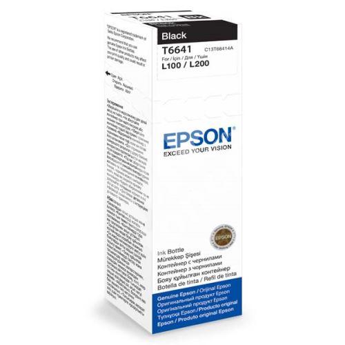 Cartridge Epson C13T66414A, black, originál 1
