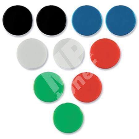 Magnety, modrá, 20mm, 8 ks, NOBO 1