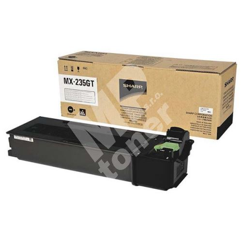 Toner Sharp MX-237GT, black, originál 1