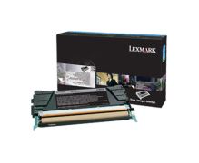 Toner Lexmark X748H3CG, X748DE, X748DTE, cyan, originál