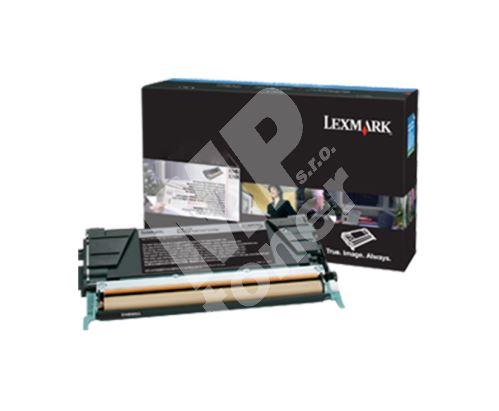 Toner Lexmark X748H3CG, cyan, originál 1