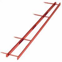 Hřebenové hřbety Velobinder A4/45mm, 25ks, červené