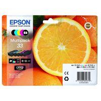 Inkoustová cartridge Epson C13T33374011, Expres. Home XP-530, XP-630, CMYK, 33, originál