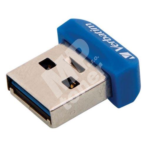 Verbatim Nano Store n Stay 64GB, USB flash disk 3.0, 98711, modrá 1