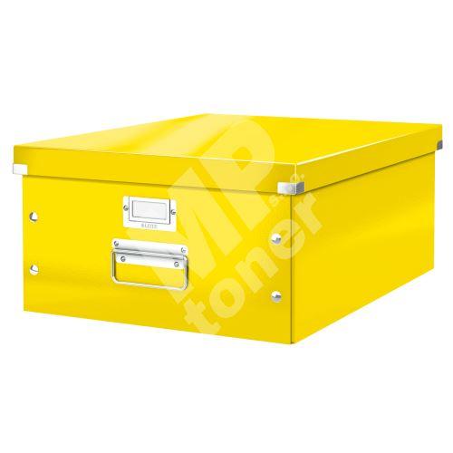 Archivační krabice Leitz Click-N-Store L (A3), žlutá 1